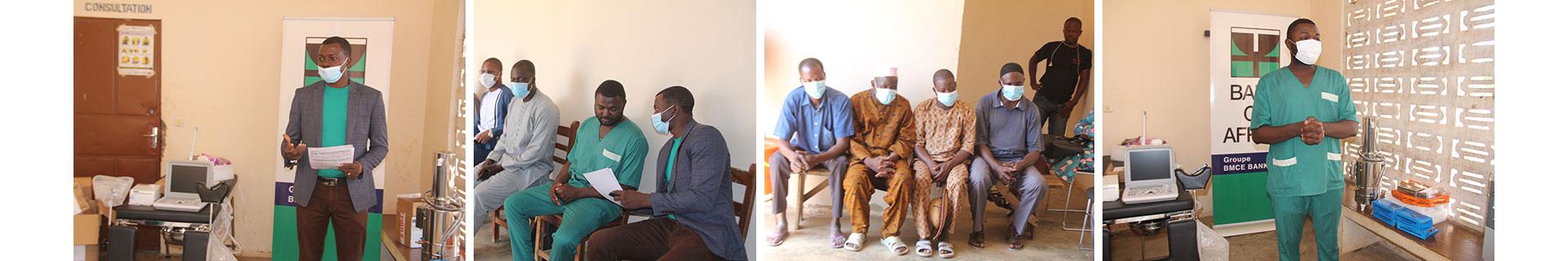 Don de la Fondation BOA-BENIN à Gogounou